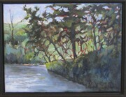RIVERBANK, Acrylic